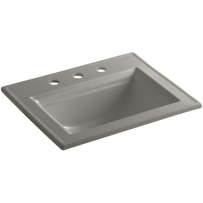 Memoirs Stately Self Rimming Bathroom Sink 4 Finish: Cashmere