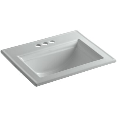 Memoirs Stately Self Rimming Bathroom Sink 4 Finish: Ice Grey
