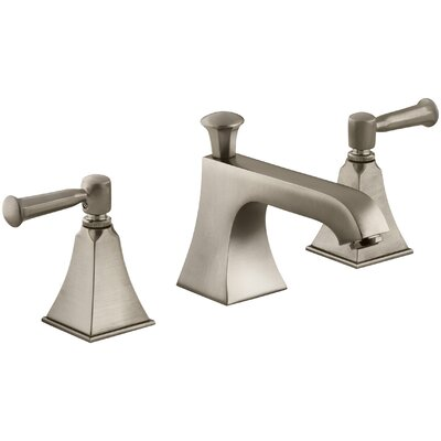 Memoirs Widespread Bathroom Sink Faucet with Lever Handles Finish: Vibrant Brushed Bronze