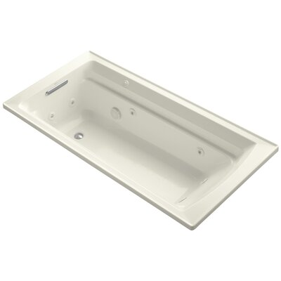 Archer 72 x 36 Whirpool Bathtub Finish: Biscuit
