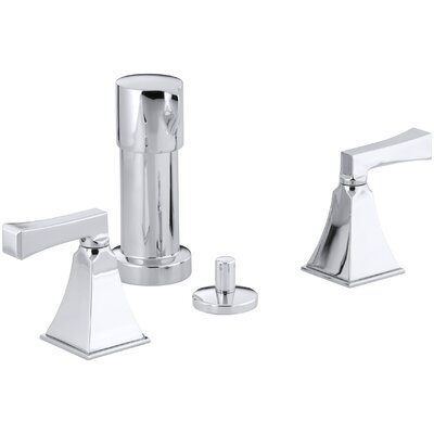 Memoirs Stately Vertical Spray Bidet Faucet with Deco Lever Handles Finish: Polished Chrome