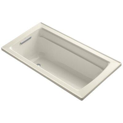 Archer 60 x 32 Soaking Bathtub Finish: Almond