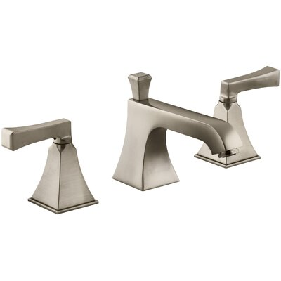 Memoirs Widespread Bathroom Sink Faucet with Deco Lever Handles Finish: Vibrant Brushed Bronze