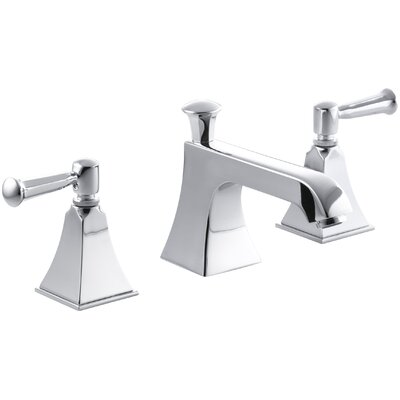 Memoirs Widespread Bathroom Sink Faucet with Lever Handles Finish: Polished Chrome