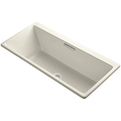 Reve 67 x 32 Soaking Bathtub Finish: Almond