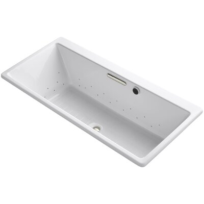Reve 67 x 32 Air Bathtub Finish: White
