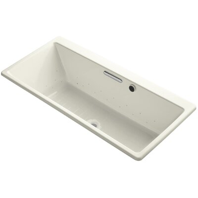 Reve 67 x 32 Air Bathtub Finish: Biscuit, Jet Finish: Biscuit