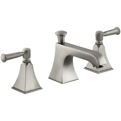 Memoirs Widespread Bathroom Sink Faucet with Lever Handles Finish: Vibrant Brushed Nickel