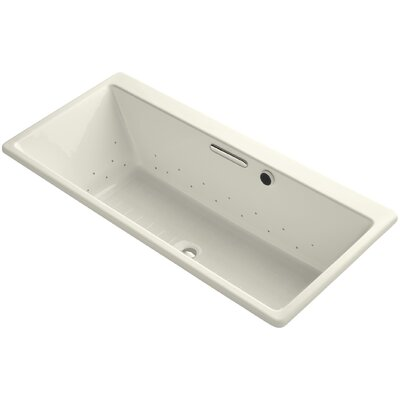 Reve 67 x 32 Air Bathtub Finish: Biscuit