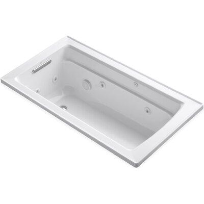 Archer 60 x 32 Whirpool Bathtub Finish: White