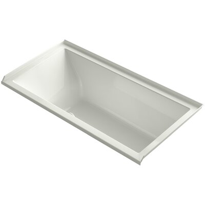 Underscore 60 x 30 Soaking Bathtub Finish: Dune, Drain Location: Right