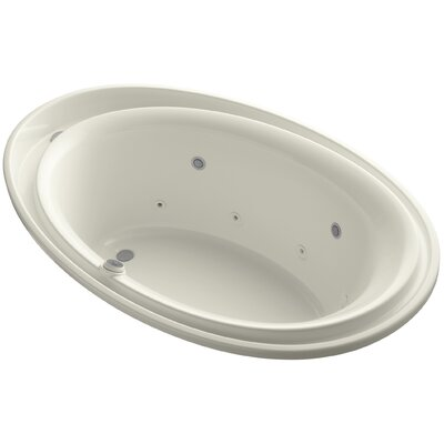 Purist 72 x 46 Whirlpool Bathtub Finish: Biscuit