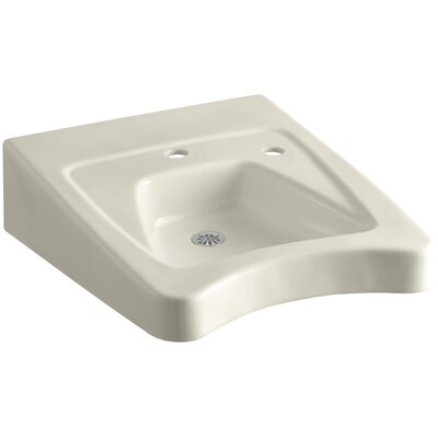 Morningside 20 Wall Mount Bathroom Sink Finish: Almond