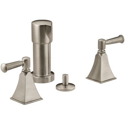 Memoirs Stately Vertical Spray Bidet Faucet with Lever Handles Finish: Vibrant Brushed Bronze