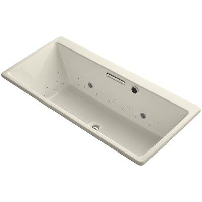 R�ve 67 x 32 Air Bathtub Finish: Almond