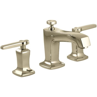 Margaux Widespread Bathroom Sink Faucet with Lever Handles Finish: Vibrant French Gold