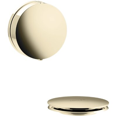 PureFlo Contemporary Rotary Turn Bath Drain Trim Finish: Vibrant French Gold