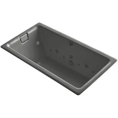 Tea-For-Two 66 x 36 Whirlpool Bathtub Finish: Thunder Grey