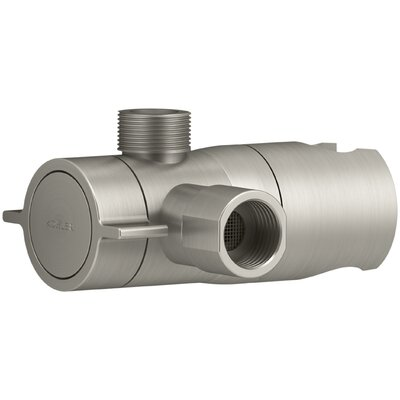 Awaken Showerarm Diverter Finish: Vibrant Brushed Nickel