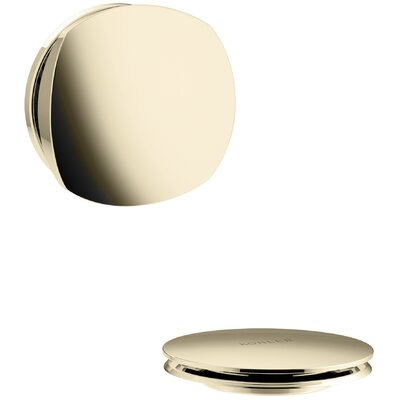 PureFlo Rotary Turn Bath Drain Trim Finish: Vibrant French Gold