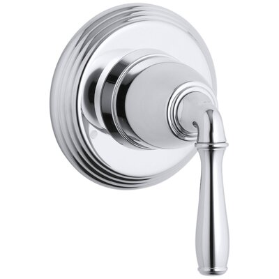 Devonshire Valve Trim for Transfer Valve with Lever Handle, Requires Valve Finish: Polished Chrome