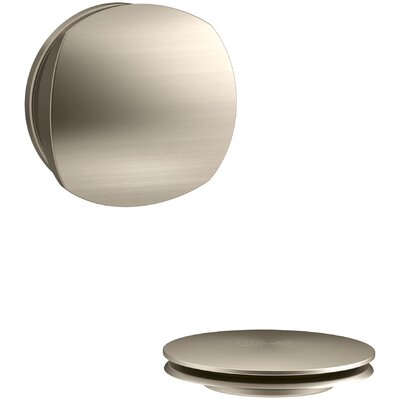 PureFlo Rotary Turn Bath Drain Trim Finish: Vibrant Brushed Bronze