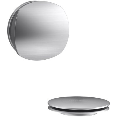 PureFlo Rotary Turn Bath Drain Trim Finish: Brushed Chrome