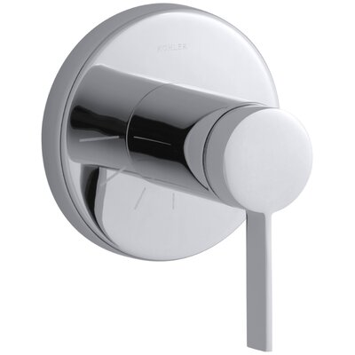 Stillness Valve Trim with Lever Handle for Volume Control Valve Finish: Polished Chrome