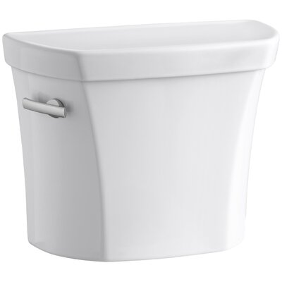 Wellworth 1.28 GPF Tank with Insuliner Tank Liner Finish: White