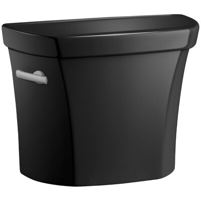 Wellworth 1.28 GPF Tank with Insuliner Tank Liner Finish: Black Black