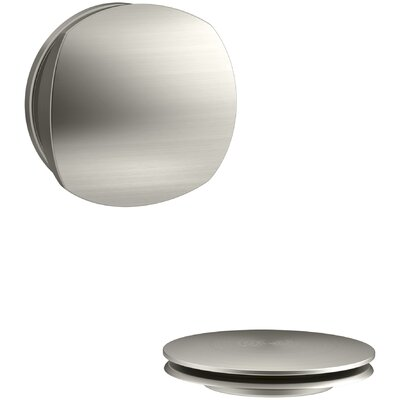 PureFlo Rotary Turn Bath Drain Trim Finish: Vibrant Brushed Nickel