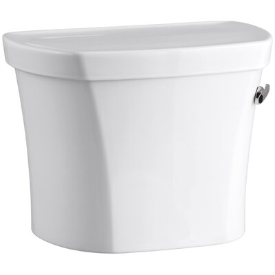 Wellworth 1.28 GPF Tank, 14 Rough-In with Insuliner Tank Liner and Right-Hand Trip Lever Finish: White