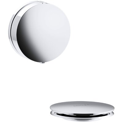 PureFlo Contemporary Rotary Turn Bath Drain Trim Finish: Polished Chrome