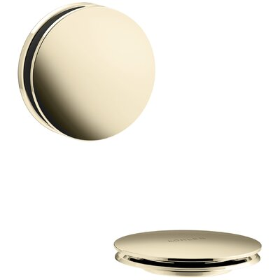 PureFlo Contemporary Bath Drain Trim Finish: Vibrant French Gold