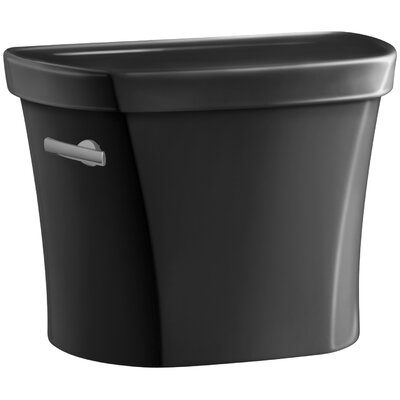 Wellworth 1.28 GPF Tank, 14 Rough-In with Insuliner Tank Liner Finish: Black Black