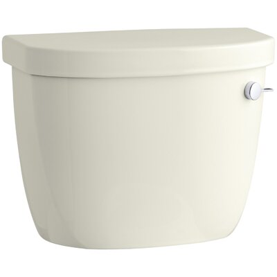 Cimarron 1.6 GPF Right-Hand Tank Finish: Biscuit