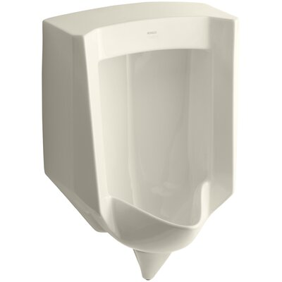 Stanwell Blow-Out Wall-Mount 1 GPF Urinal with Rear Spud Finish: Almond
