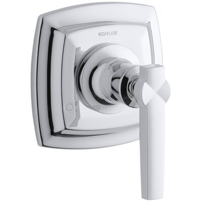 Margaux Valve Trim with Lever Handle for Transfer Valve, Requires Valve Finish: Polished Chrome