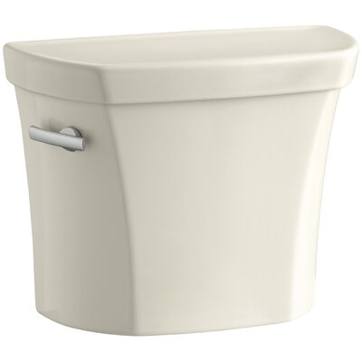 Wellworth 1.28 GPF Tank with Insuliner Tank Liner Finish: Almond