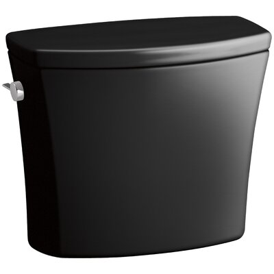 Kelston Toilet Tank with 1.28 Gpf Finish: Black Black