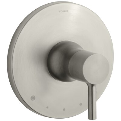 Toobi Thermostatic Valve Trim, Valve Not Included Finish: Vibrant Brushed Nickel K-T8982-4-BN
