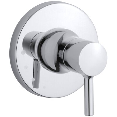 Toobi Volume Control Valve Trim, Valve Not Included Finish: Polished Chrome