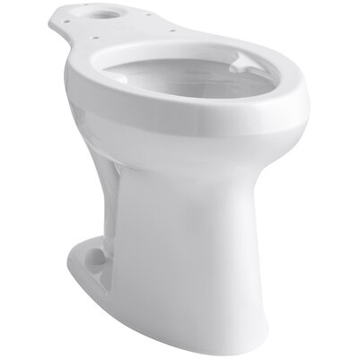 Highline Toilet with Pressure Lite Flushing Technology and Bedpan Lugs Finish: White