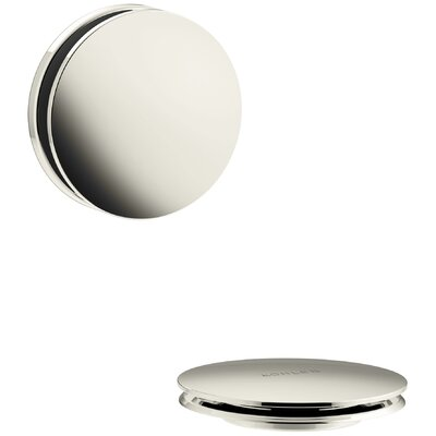 PureFlo Contemporary Bath Drain Trim Finish: Vibrant Polished Nickel