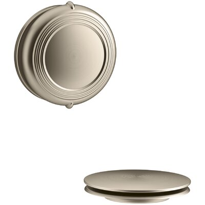 PureFlo Traditional Rotary Turn Bath Drain Trim Finish: Vibrant Brushed Bronze