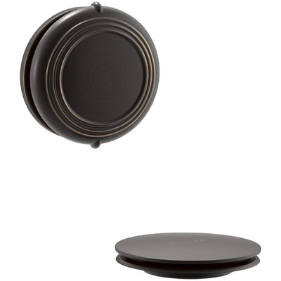 PureFlo Traditional Rotary Turn Bath Drain Trim Finish: Oil Rubbed Bronze