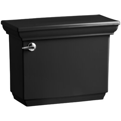 Memoirs Stately 1.28 GPF Tank with Insuliner Tank Liner Finish: Black Black