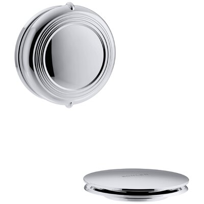 PureFlo Traditional Rotary Turn Bath Drain Trim Finish: Polished Chrome