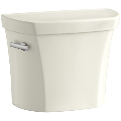 Wellworth 1.28 GPF Tank with Insuliner Tank Liner Finish: Biscuit