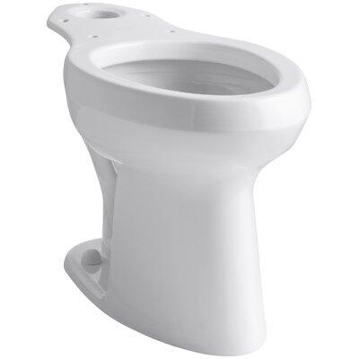 Highline Toilet Bowl with Pressure Lite Flushing Technology Finish: White